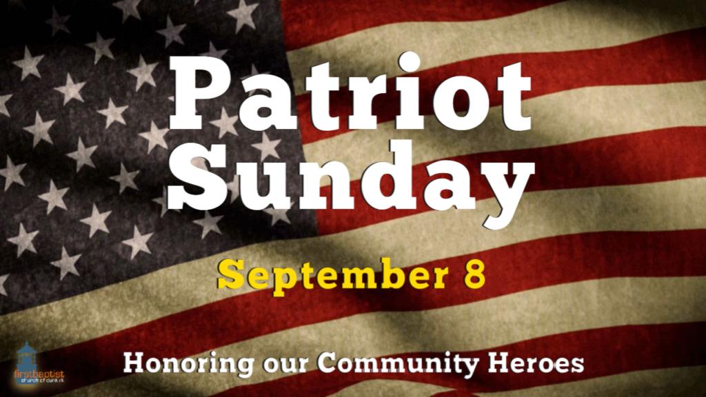 Patriot Sunday 2019